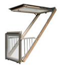 """Купить окно-балкон """"fgh-v p2 galeria"""" от """"fakro"""" в екатеринб."""